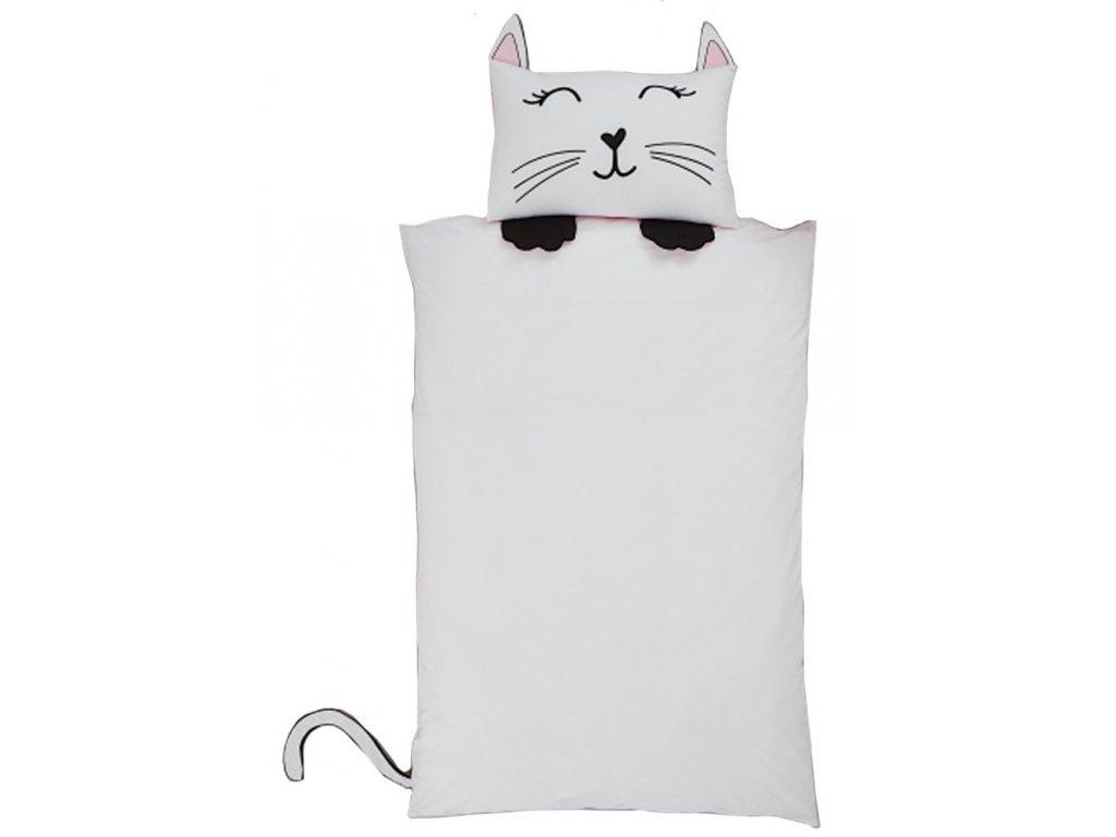 povlečení kočka kotě kočičí