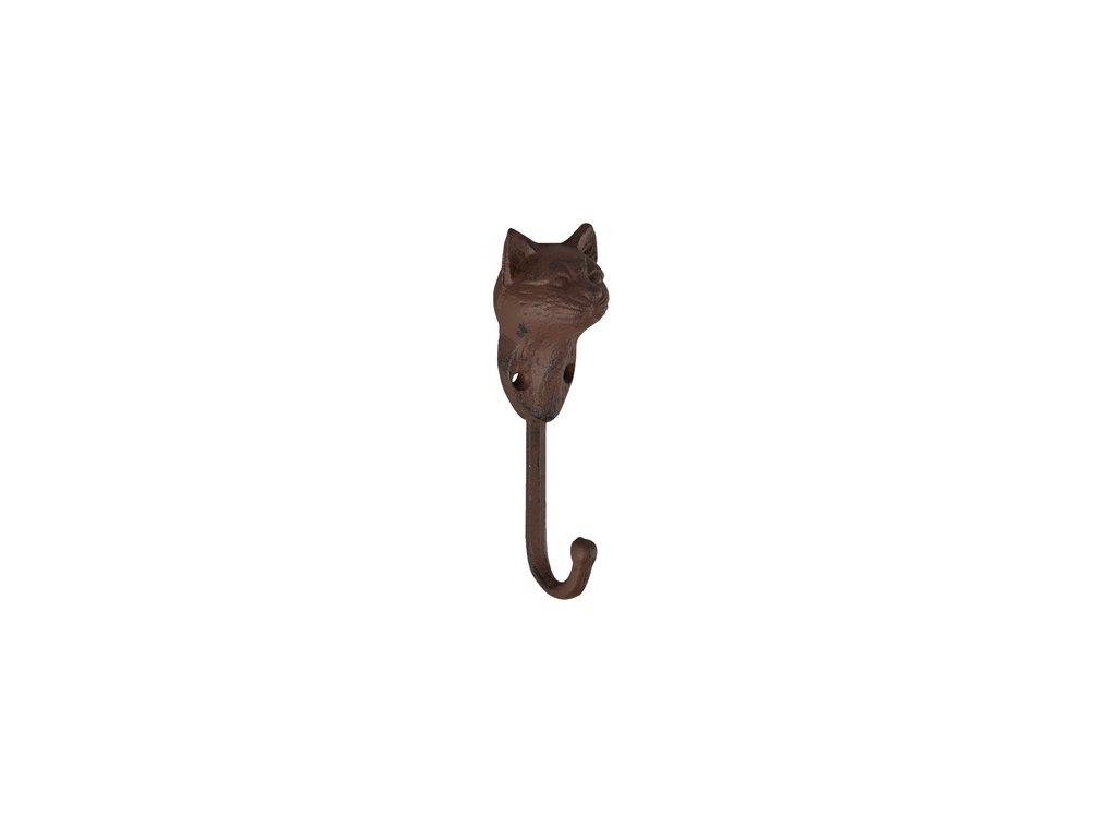 háček kočka litinový