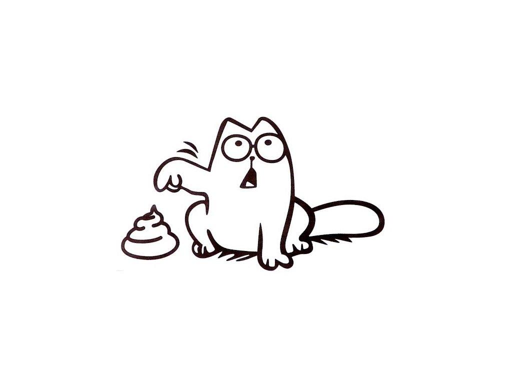 samolepka simons cat 2