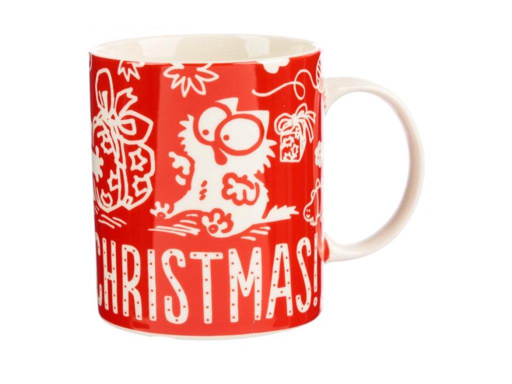 hrnek simons cat vánoce vánoční