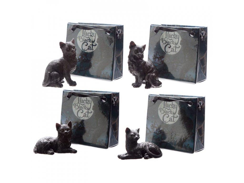 Plyšové kočky bílé, černé, zrzavé i šedé z kvalitní plyše.