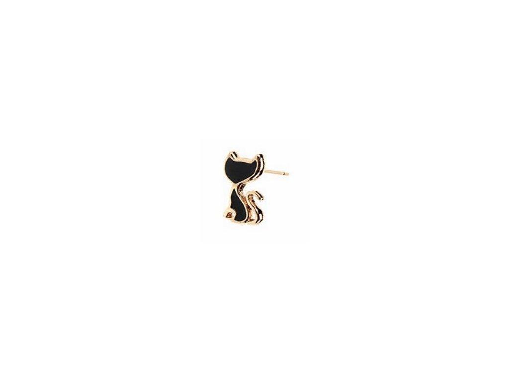 Náušnice ušatá kočka