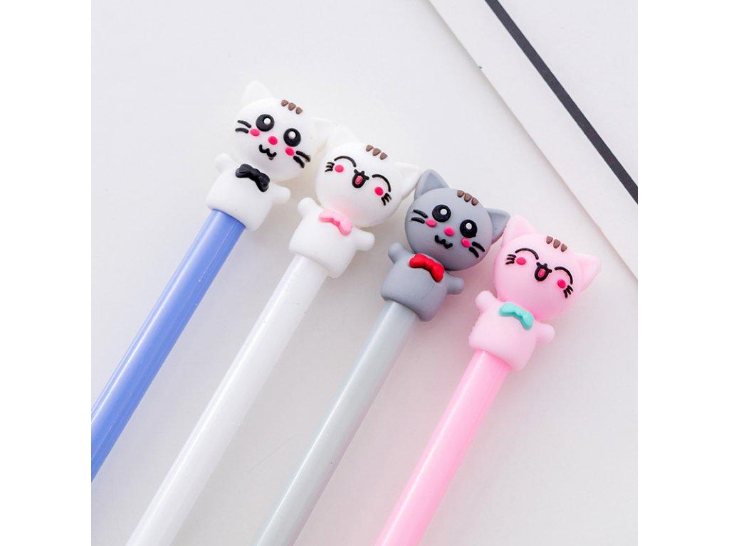 propiska pero tužka kočka s kočkou kočičí motiv kočky