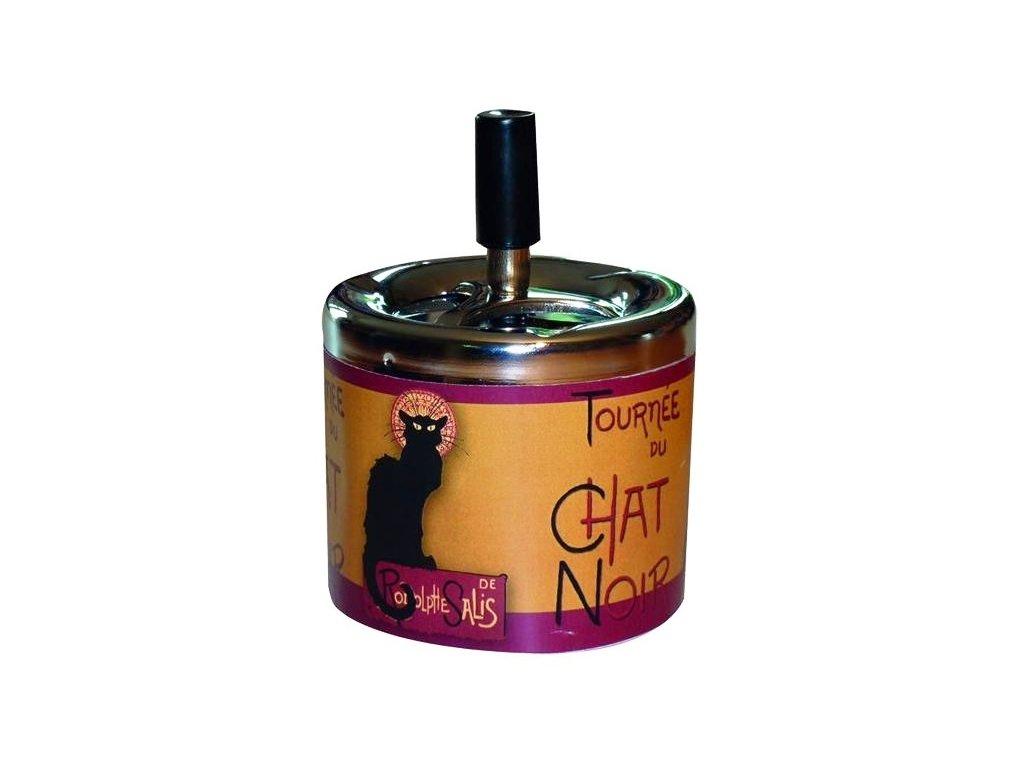 popelník chat noir kočka s kočkou kočičí