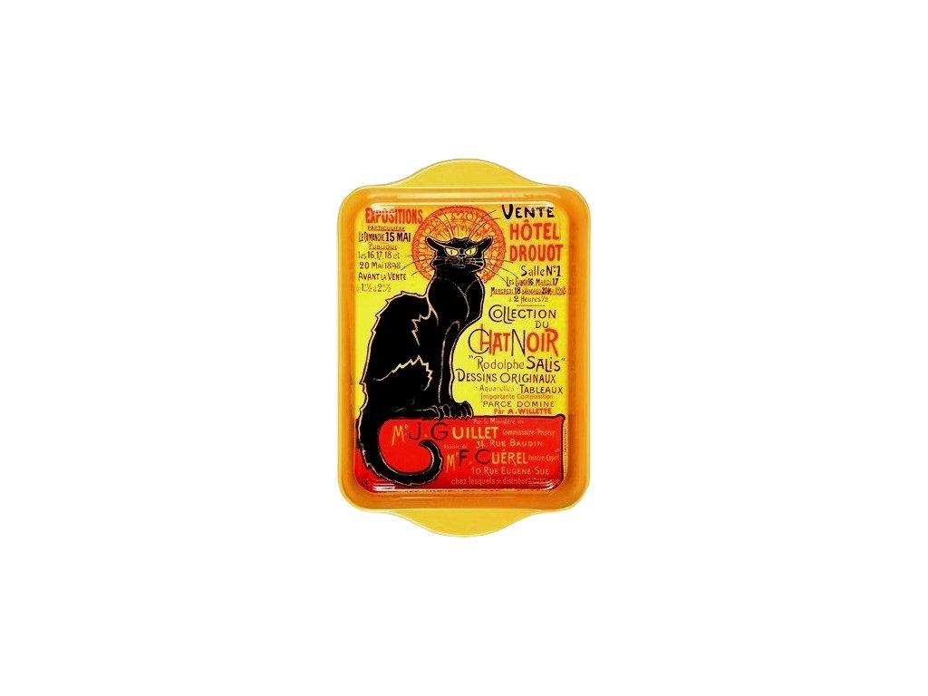 tác le chat noir kočka kočičí s kočkou podnos