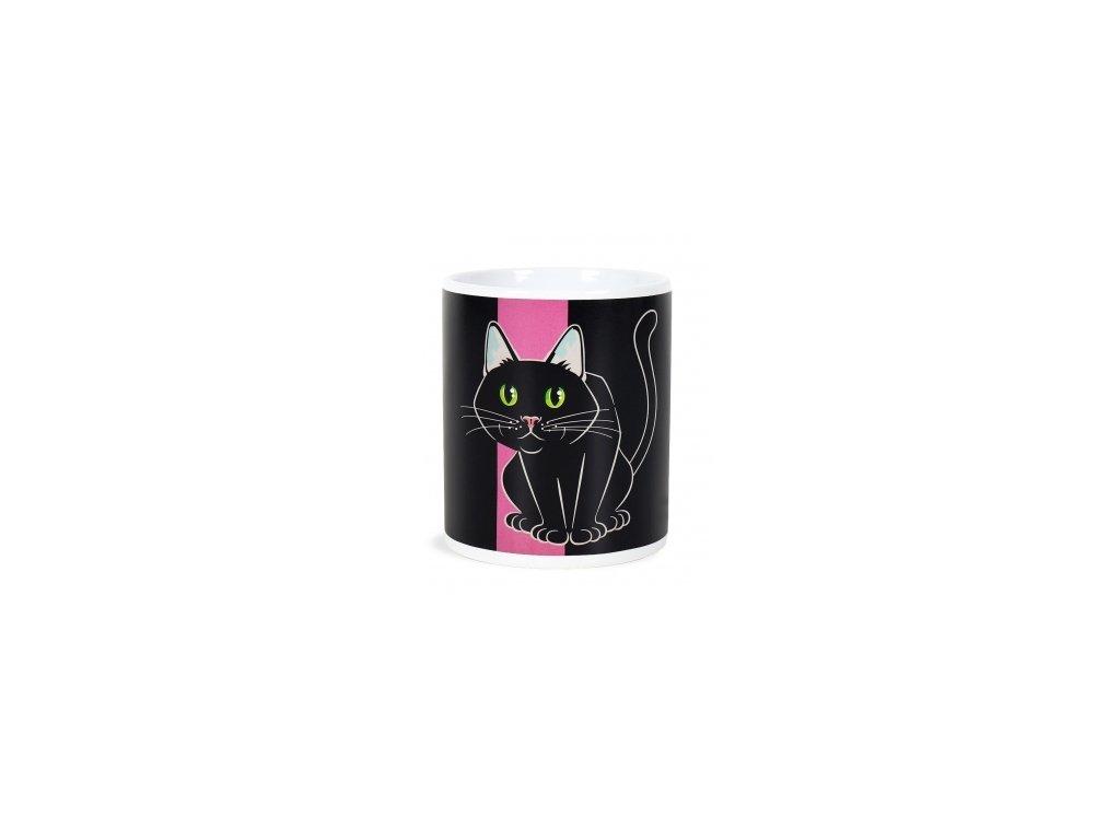 hrnek kočka kočičí s kočkou přebarvovací šálek