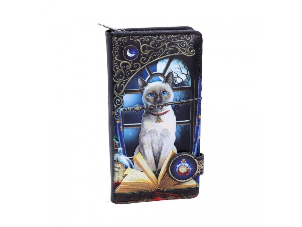peněženka kočka kouzelnice s kočkou kočičí lisa parker