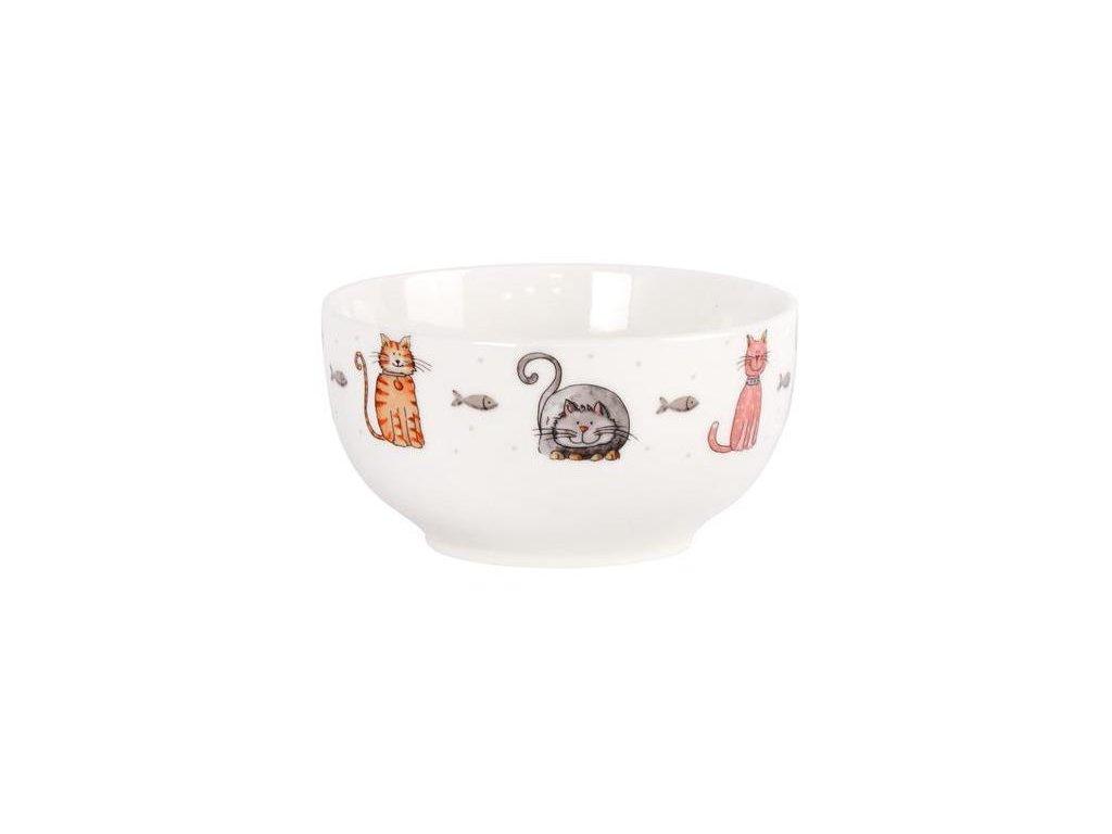 keramická miska kočka s kočkou kočičí 2