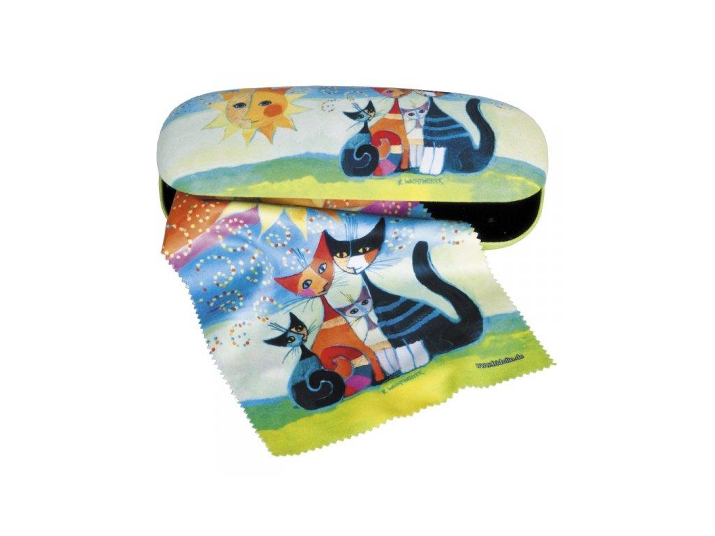 pouzro na brýle utěrka kočka s kočkou kočičí mačka s mačkou mačacie rosina wachtmeister