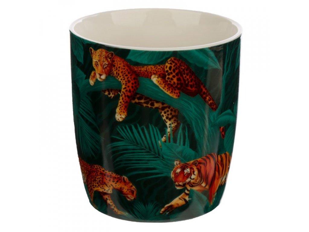 hrnek kočka s kočkou kočičí mačka s mačkou tygr gepard tigr 2