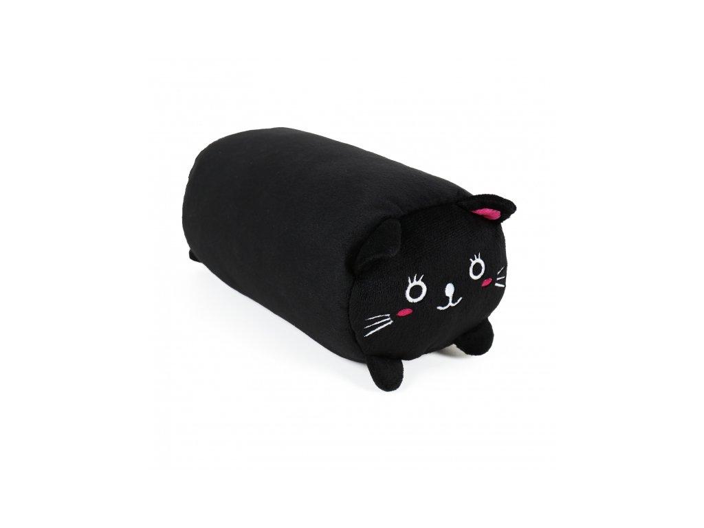 cestovní polčtář černá skládací kočka s kočkou kočičí