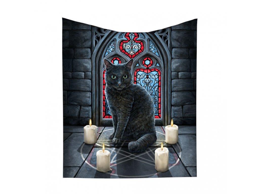 deka s kočkou kočka kočičí přehoz Lisa Parker