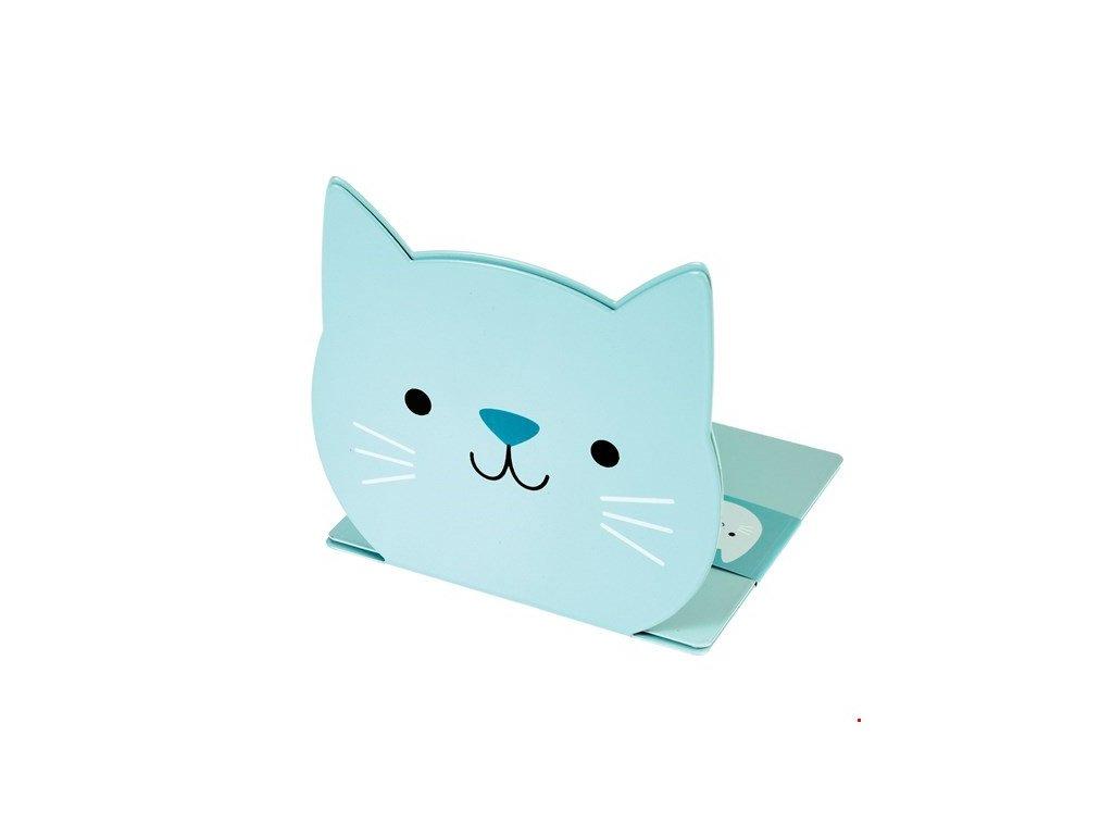 cookie zarážka do knihovny kočka s kočkou kočičí