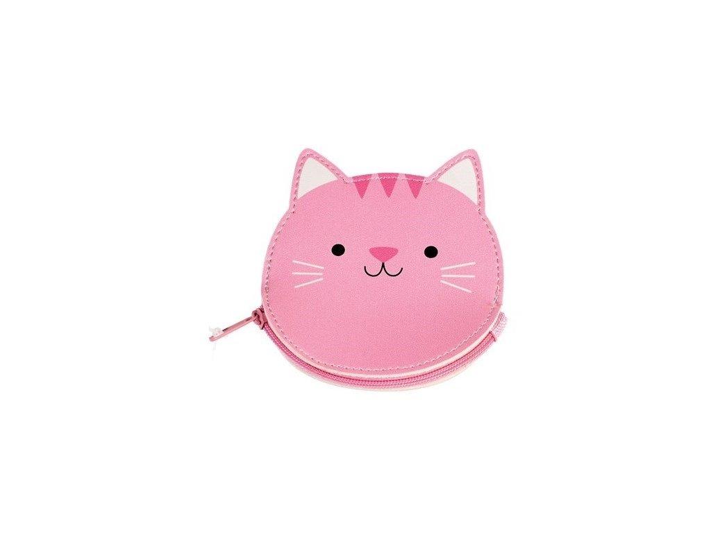 cookie peněženka na mince kočka s kočkou kočičí 2