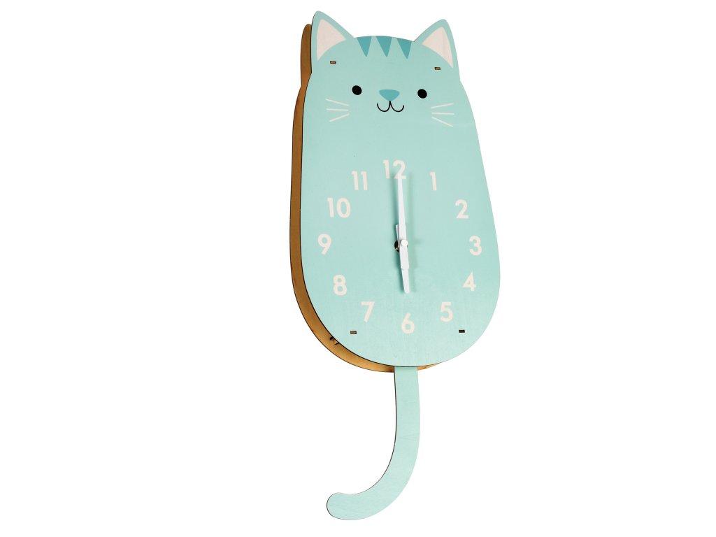 cookie hodiny kočka s kočkou kočičí 4