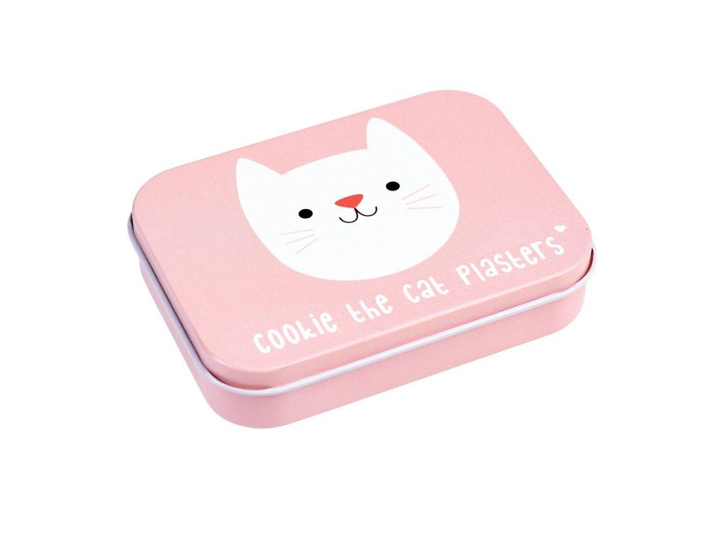cookie náplast v krabičce kočka s kočkou kočičí 2