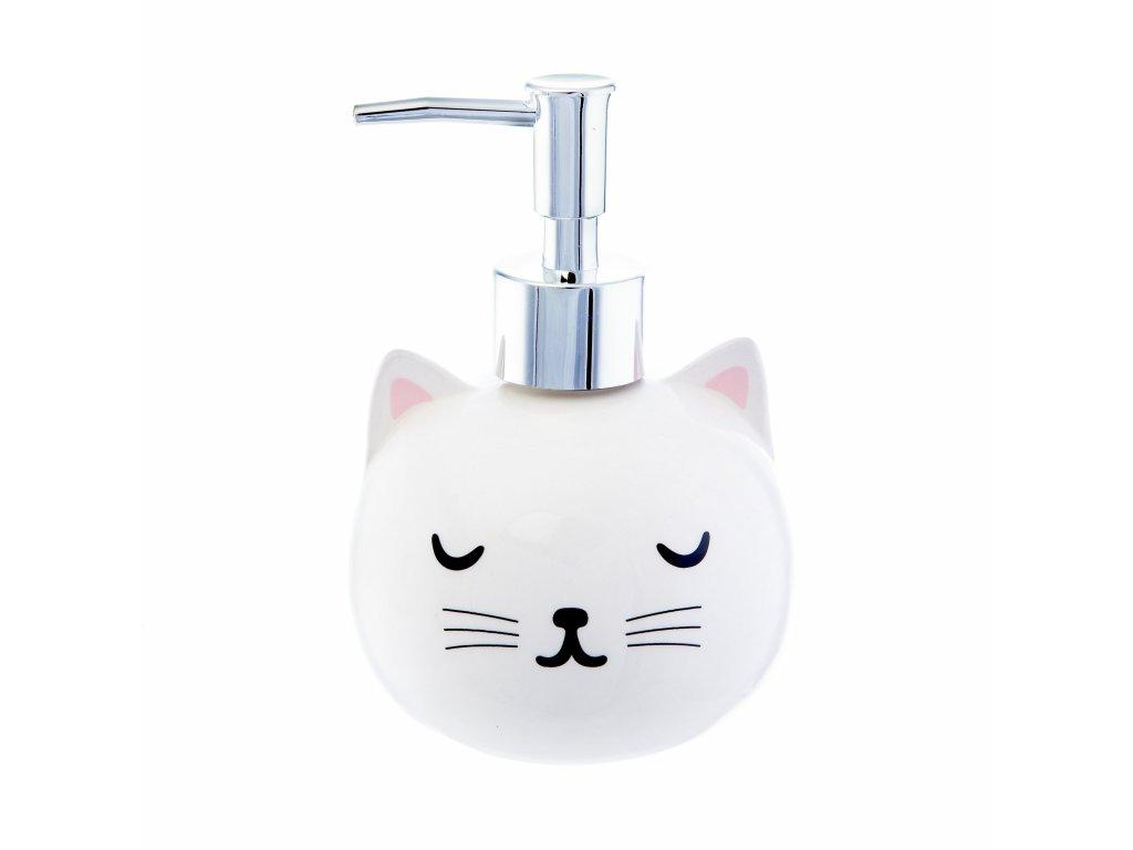 dávkovač mýdla kočka s kočkou kočičí