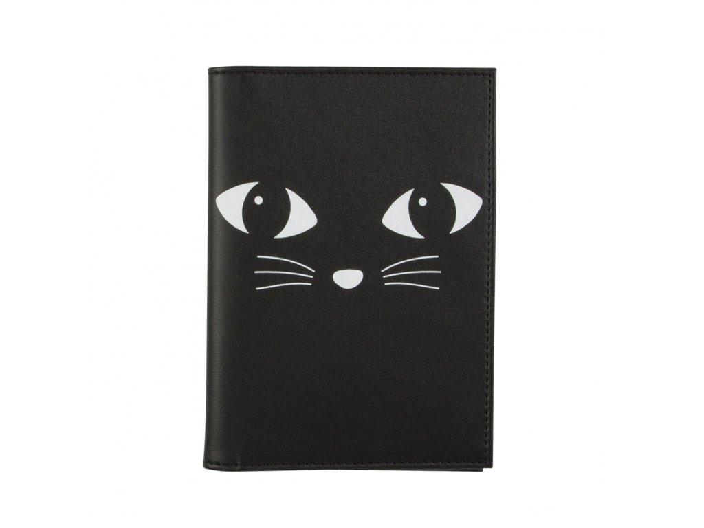 obal na doklady na pas kočka s kočkou kočičí