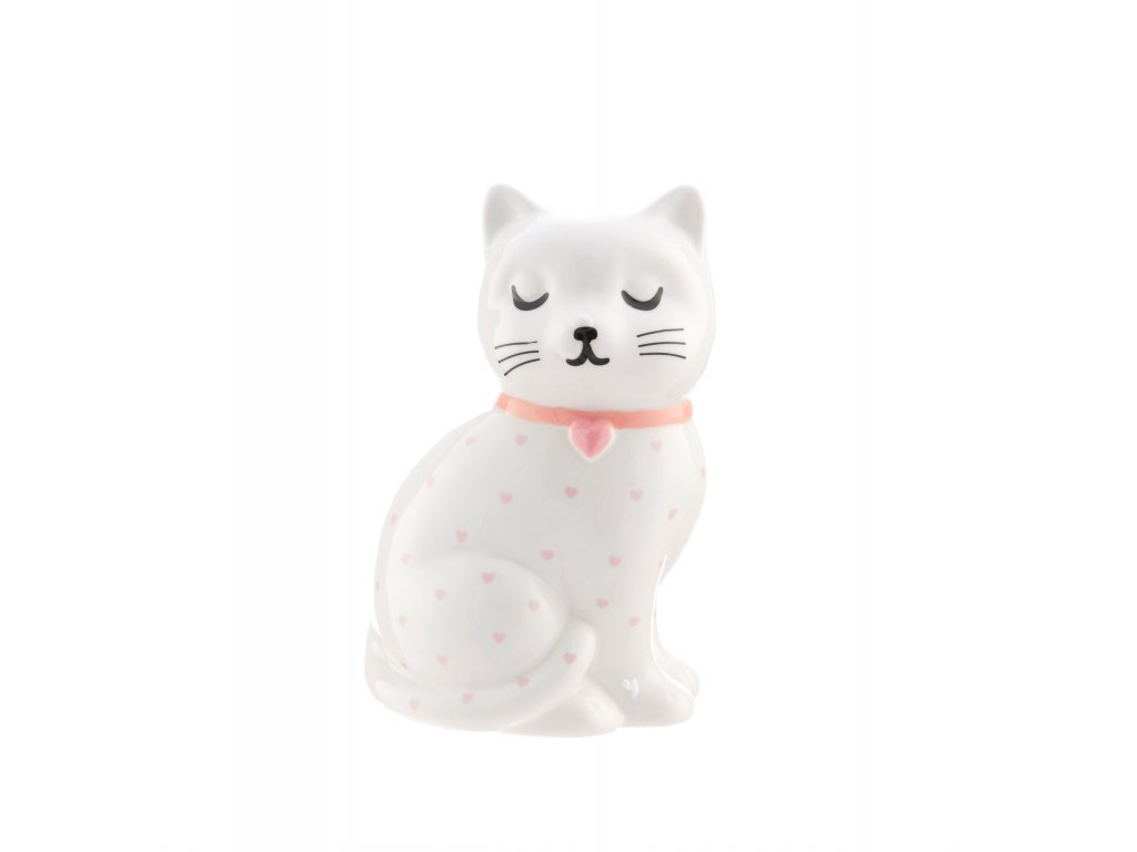 pokladnička kasička kočka s kočkou kočičí