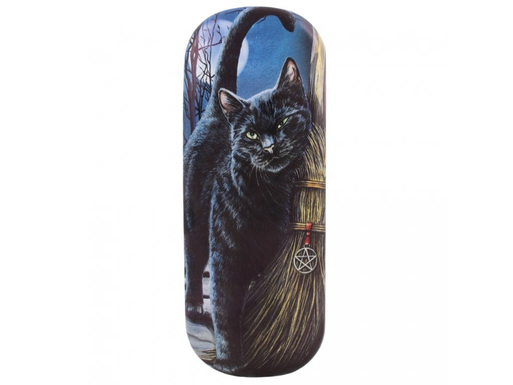 pouzdro na brýle s kočkou kočka kočičí lisa parker
