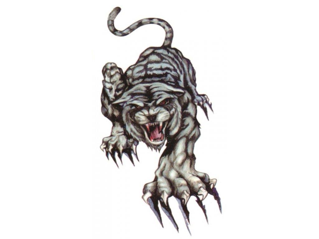 tetování tygr kočka s kočkou kočičí