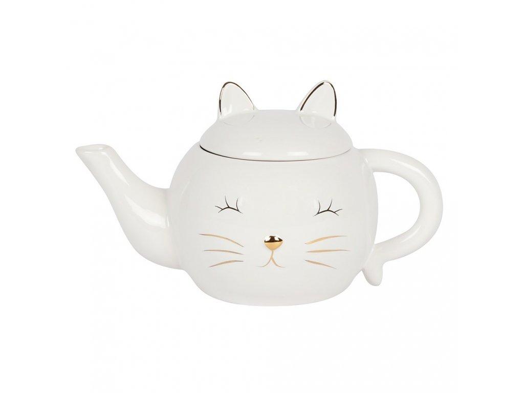 čajová konvice kočka s kočkou kočičí