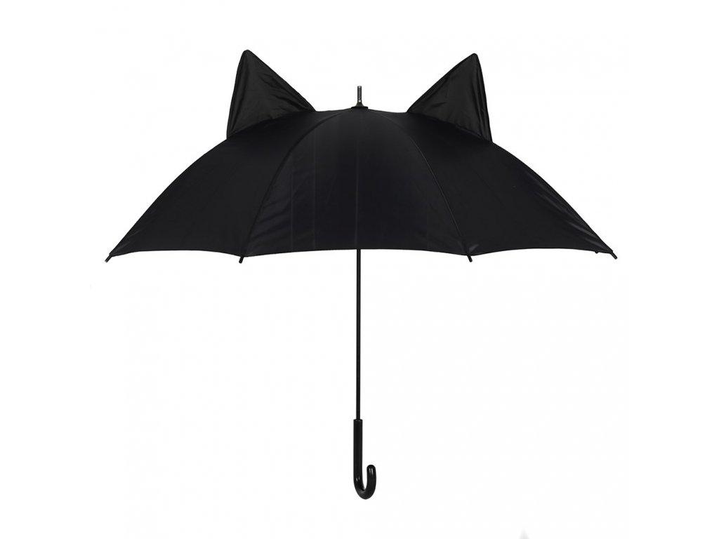 deštník kočka s kočkou s ušima ušatý kočičí