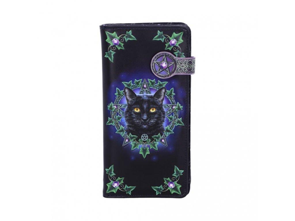 peněženka s kočkou a pentagramem