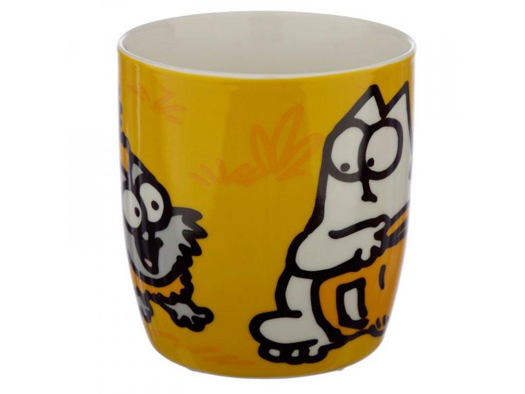 hrnek kočka s kočkou kočičí simons cat 2