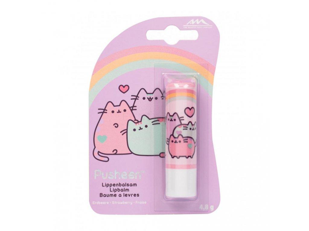 balzám na rty kočka s kočkou kočičí pusheen