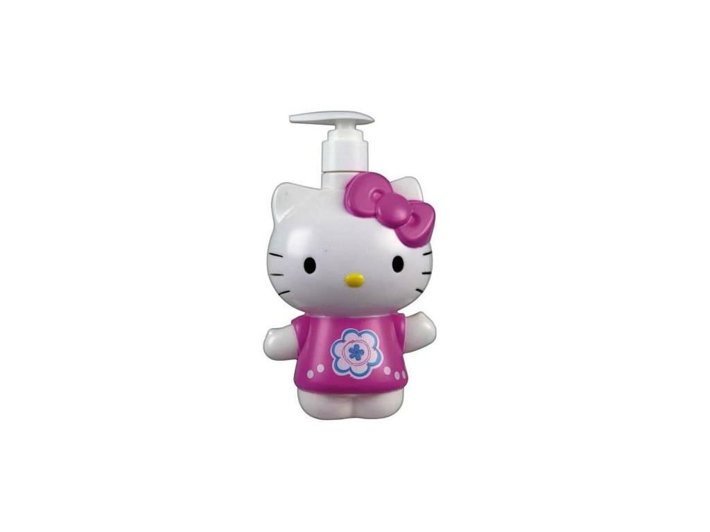 tekuté mýdlo kočka s kočkou kočičí hello kitty 2