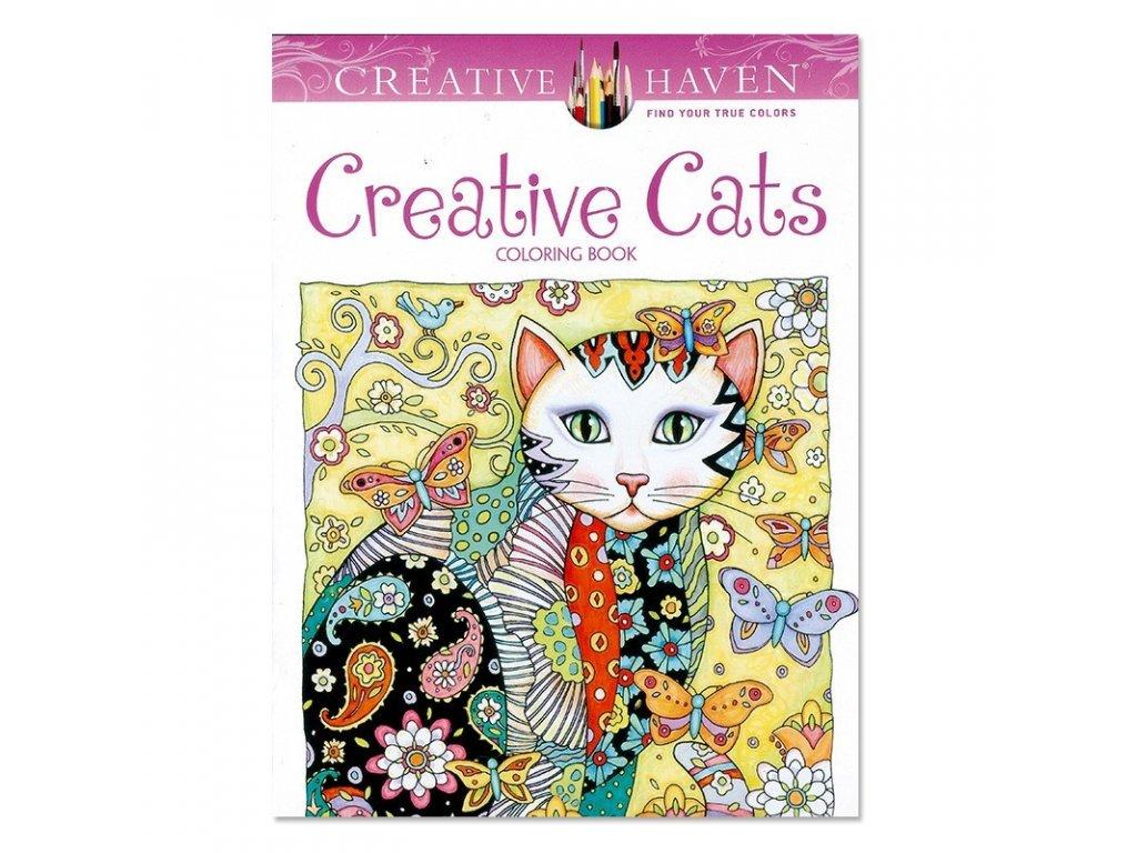 Omalovánky pro dospělé kočka II