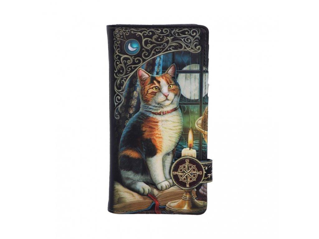 peněženka strakatá kočka kočičí s kočkou lisa parker