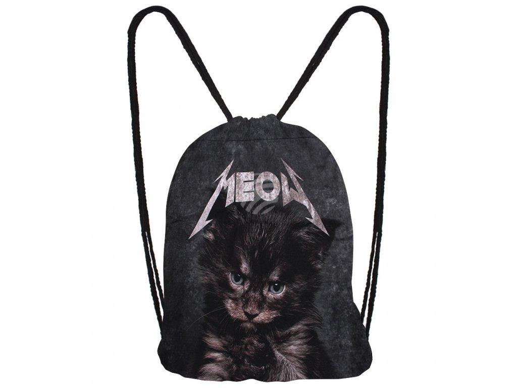 batoh kočka s kočkou kočičí kotě meow 2