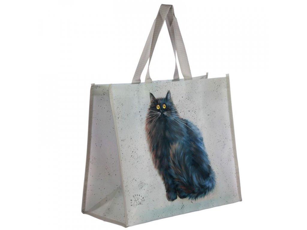 nákupní taška kočka s kočkou kočičí kocour