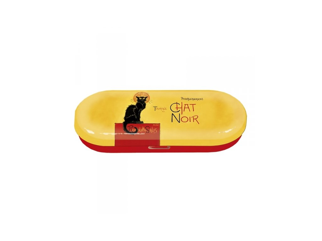 pouzdro na brýle kočka s kočkou kočičí chat noir
