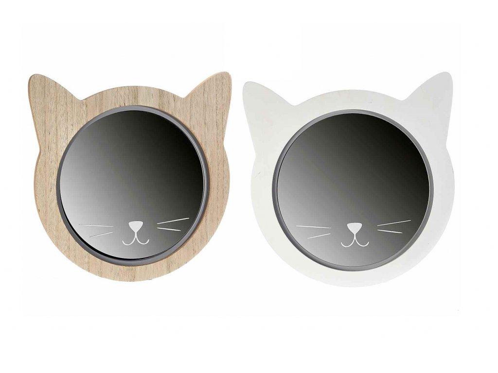 nástěnné zrcadlo kočka s kočkou kočičí