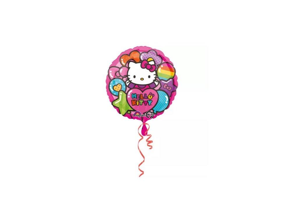 balonek kulatý kočka s kočko kočičí Hello Kitty