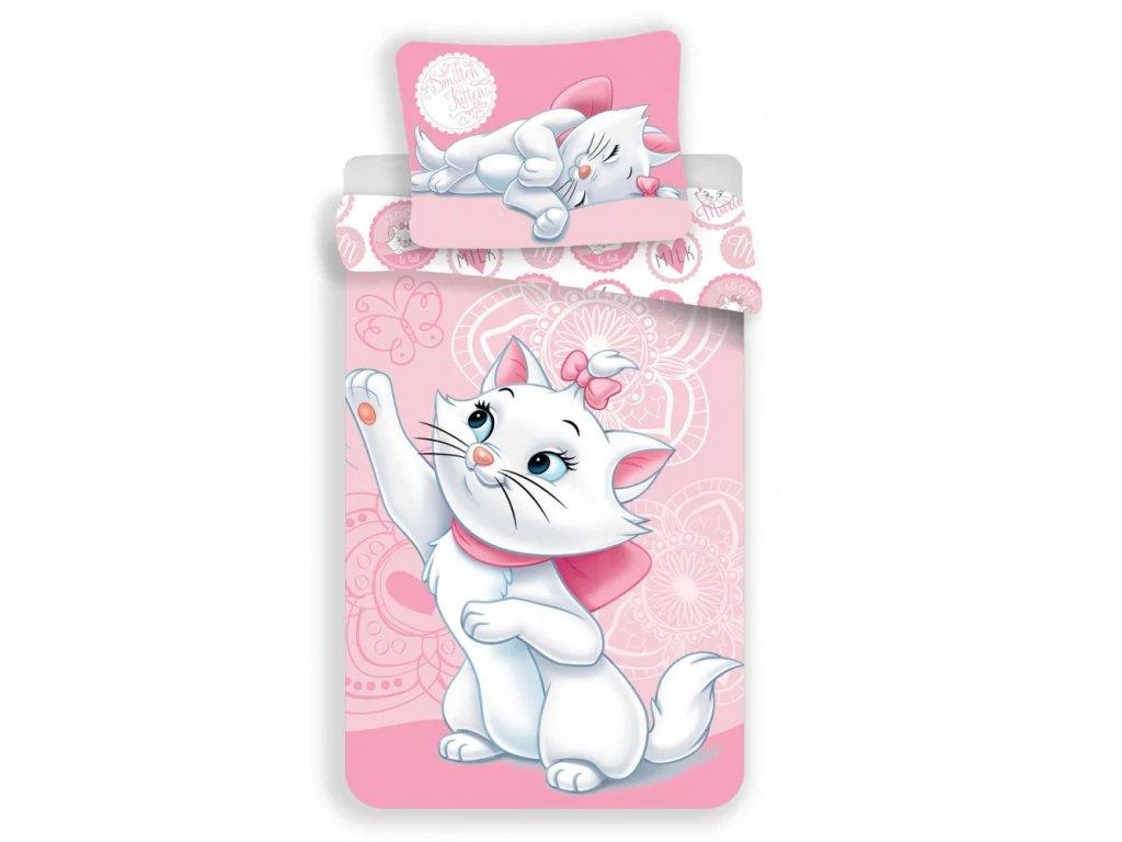 povlečení kočka s kočkou kočičí kotě Marie Disney