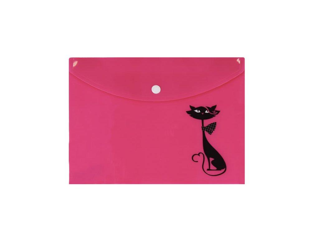 pouzdro obáka na dokumenty kočka s kočkou kočičí