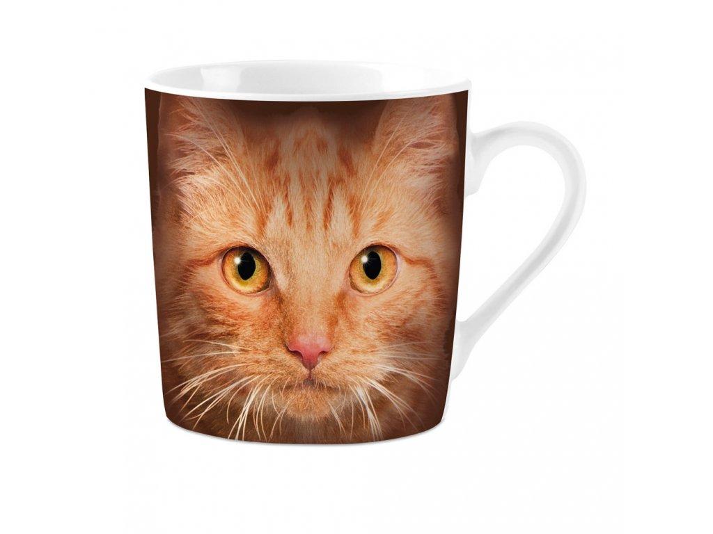 porcelánový hrnek kočka s kočkou kočičí šálek