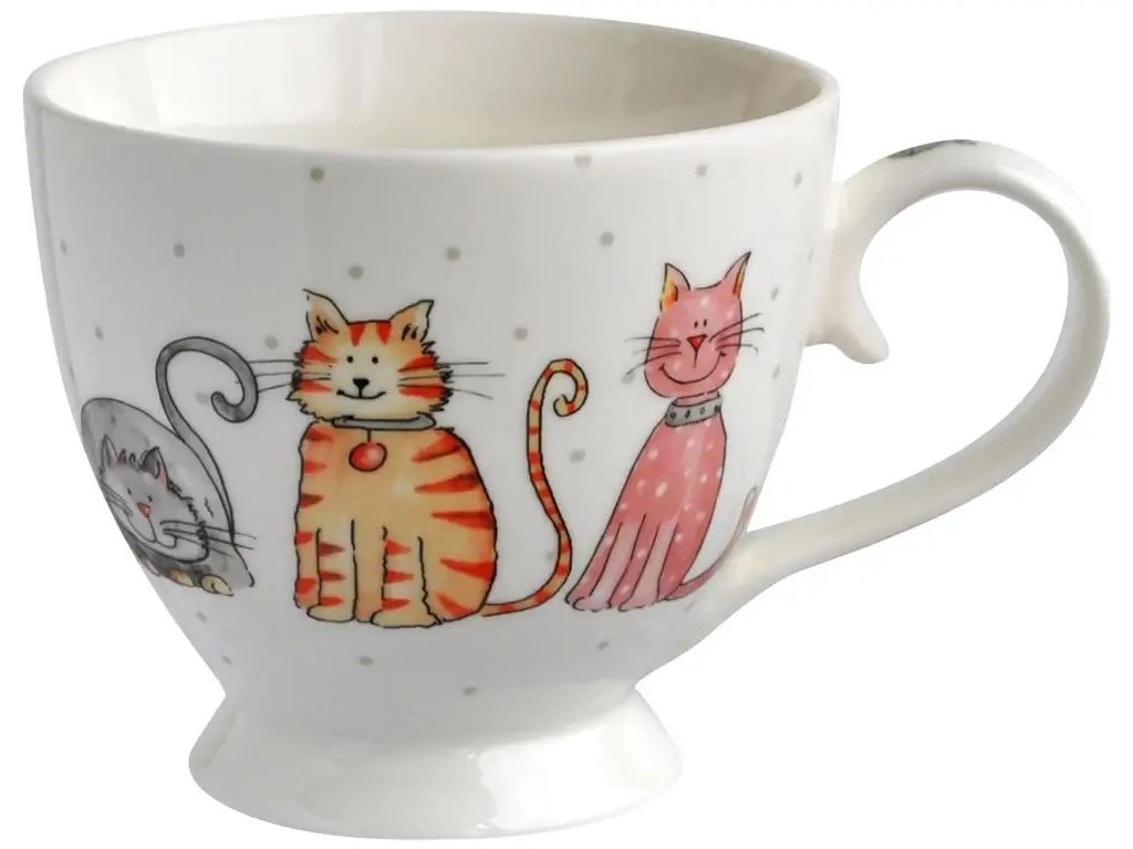 hrnek velký kočka s kočkou kočičí