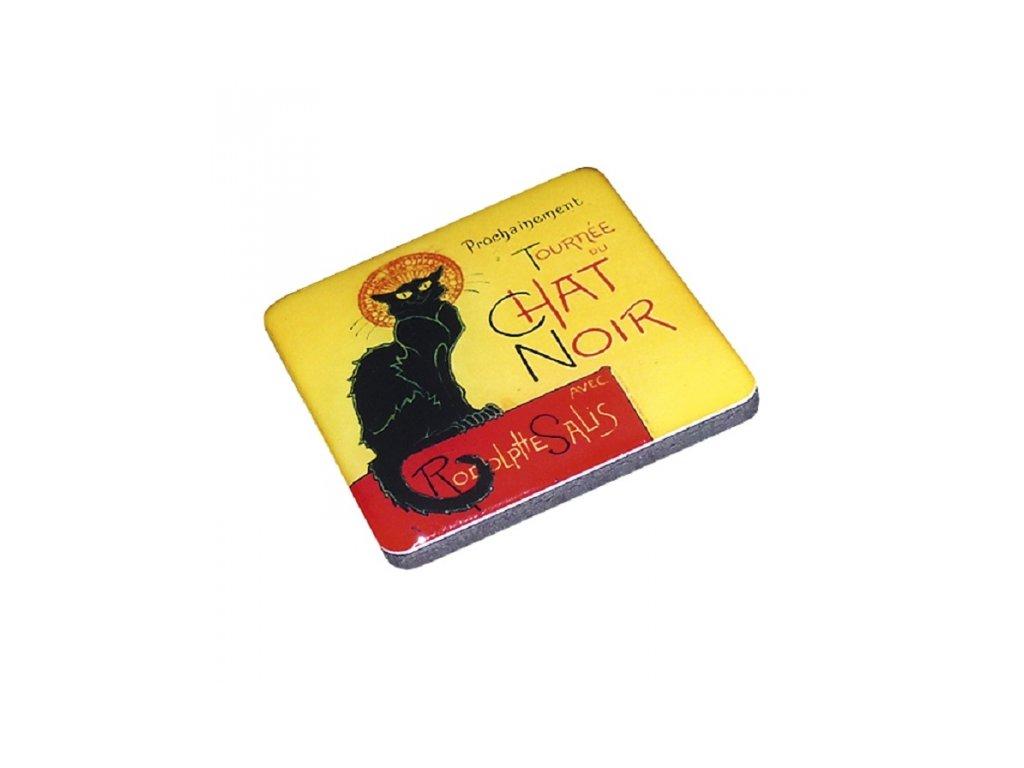 magnetky kočka s kočkou chat noir