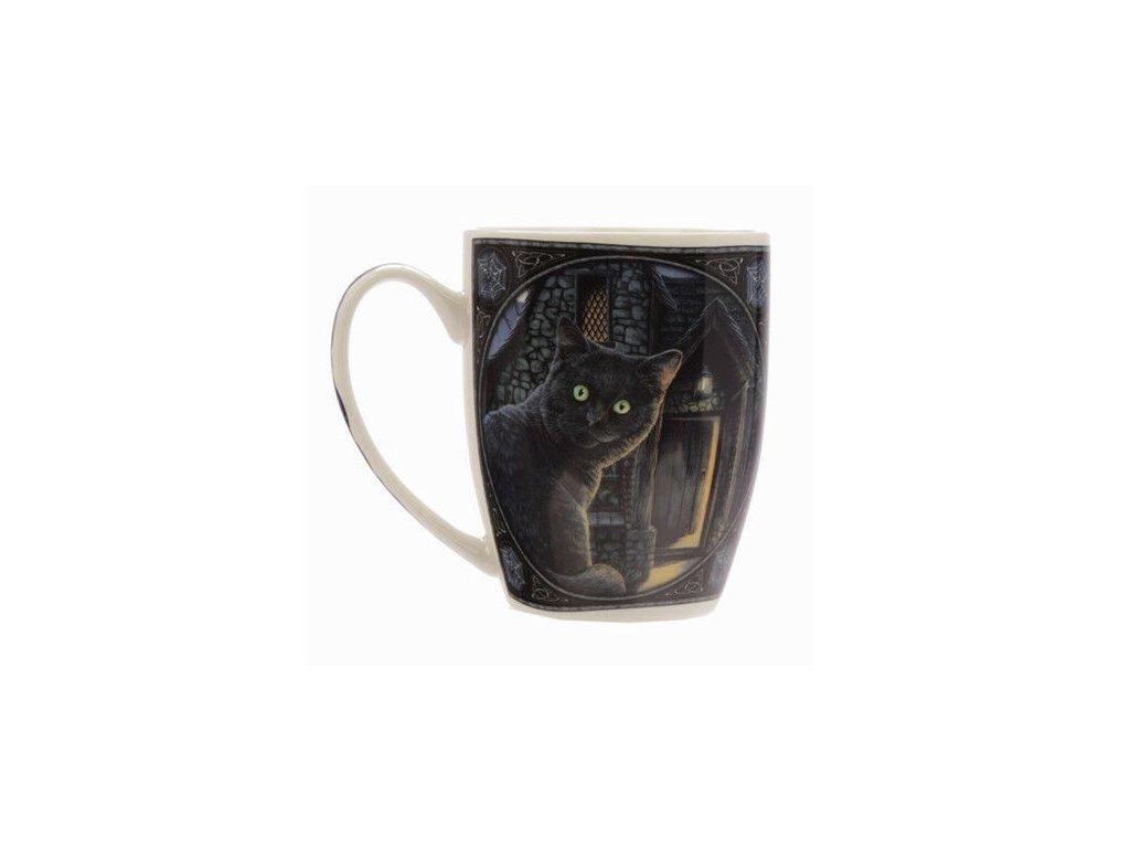 porcelánový hrnek kočka s kočkou kočičí Lisa Parker 6
