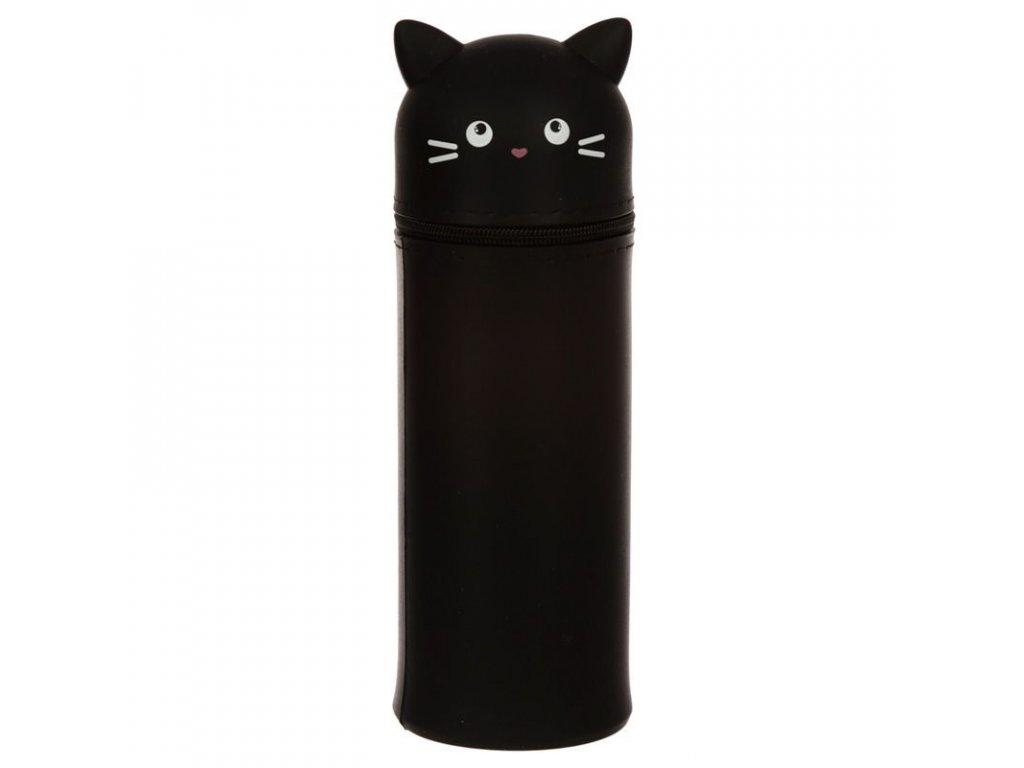 silikonové pouzdro penál kočka s kočkou kočičí