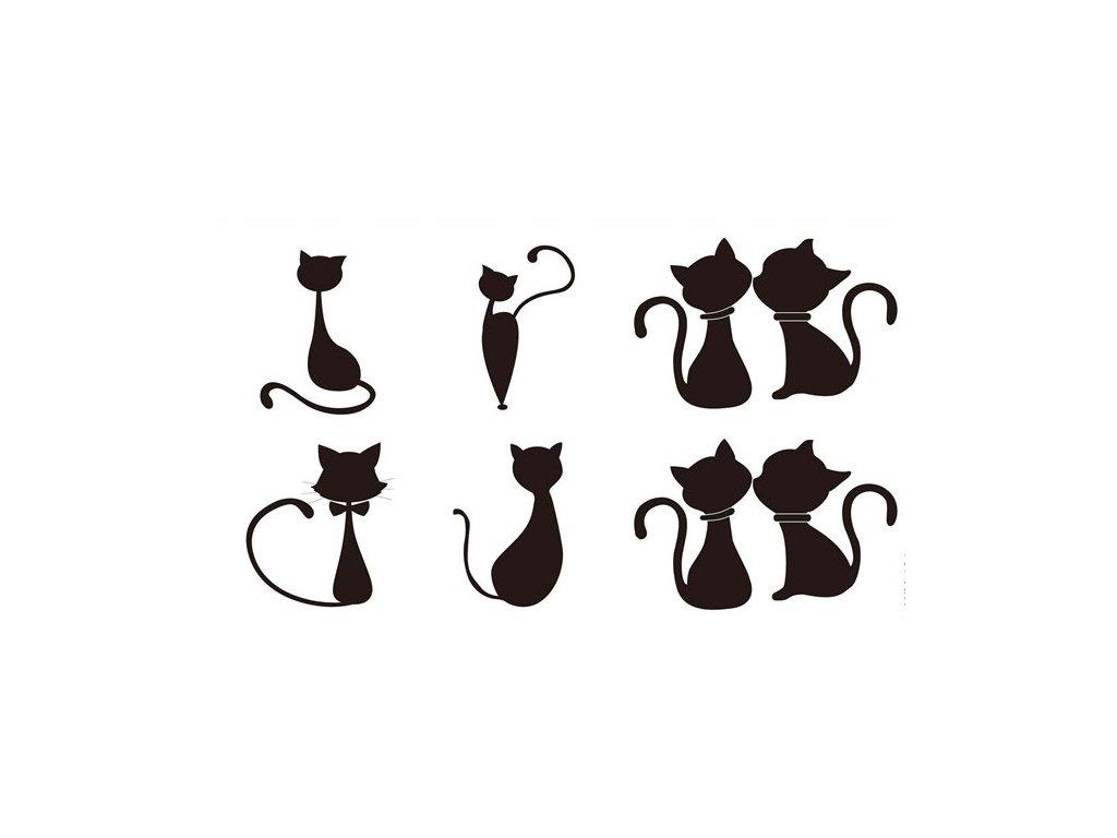 Dočasné tetování kočka V