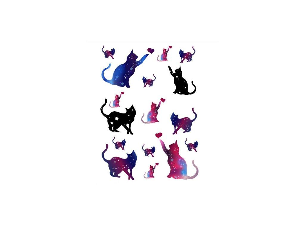 Dočasné tetování kočka VII