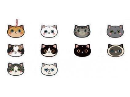 Jmenovky na dárky kočka I