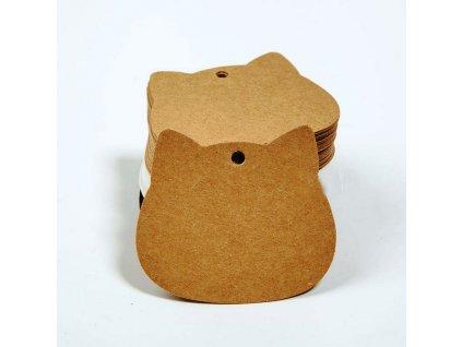 Jmenovky na dárky kočka II