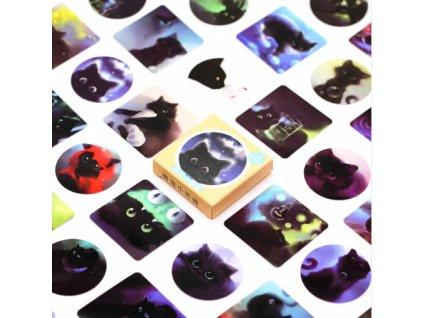 nálepky kočka s kočkou 2
